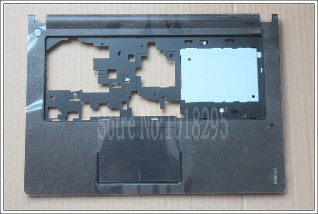 Nuevo color negro para lenovo ideapad s400 s405 s410 s415 c shell cubierta palmrest bisel sin touchpad teclado del ordenador portátil
