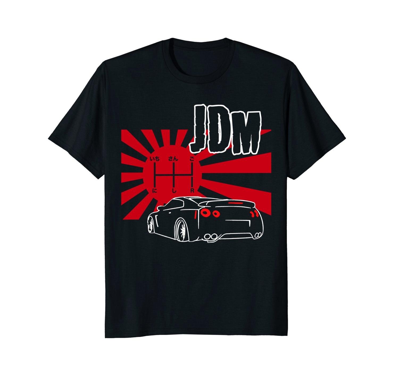 2019 New Summer Slim Tee Shirt Japanese Racings Shirt. JDM ...