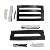 Guitar Pedal Boards Effects Pedal Board Cases for Electric Guitar + 1 Tape with adhesive backing +Ties +Explant