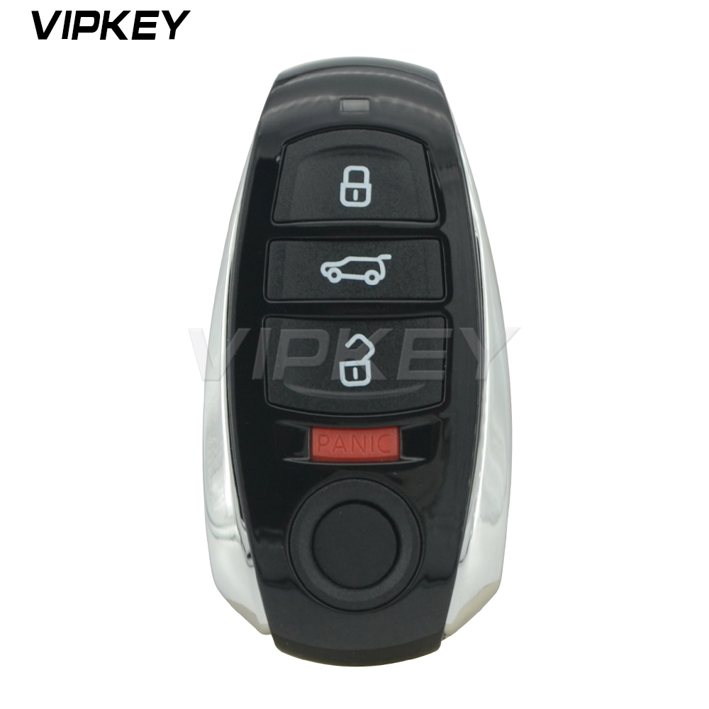 Télécommande IYZVWTOUA clé intelligente 4 boutons 315 Mhz pour Volkswagen Touareg voiture clé 2011 2012 2013 2014 2015 2016 2017