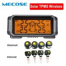 Система контроля давления в шинах TPMS сенсор Солнечная автомобильная система контроля давления в шинах сигнализация TMPS колеса внутренняя и внешняя датчик s