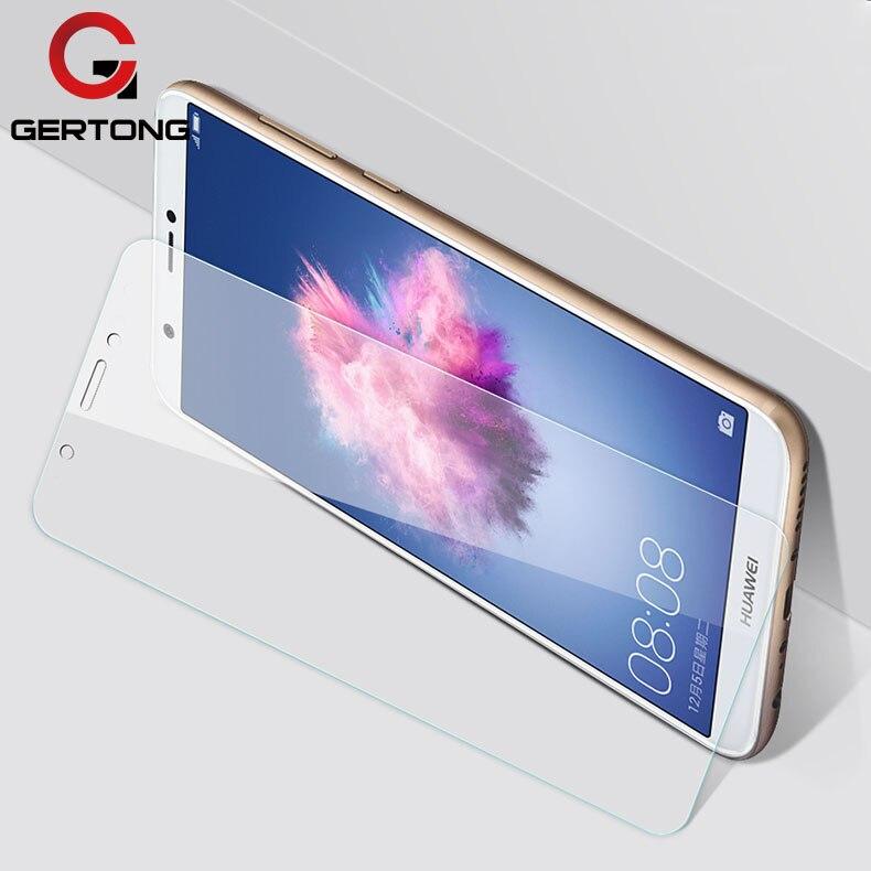 Protetor de Tela de Vidro Temperado Para Huawei P Smart GerTong Para P Inteligente FIG-LX1 FIG LX1 Protective Film pelicula de Vidro vidro