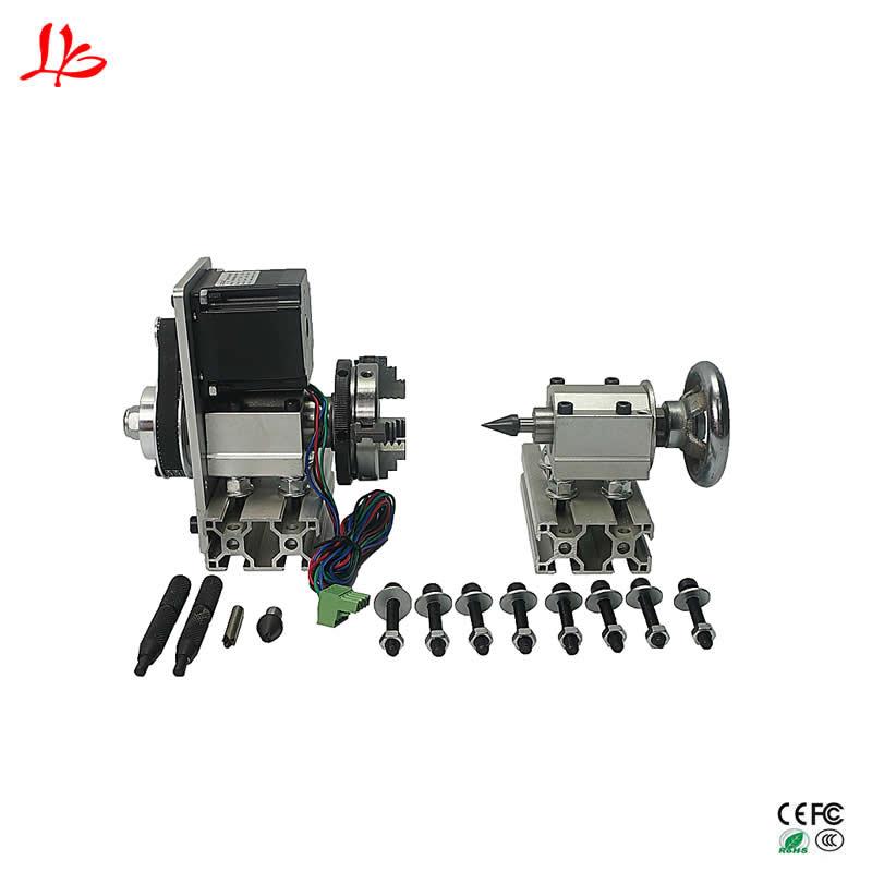 Universale Rotante asse UN asse con mandrino CNC contropunta divisore per macchine utensili cnc