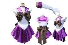 Сейлор Мун Косплей Сейлор Сатурн Томоэ Хотару Молчание Меч Костюм женская Dress Sailor Костюмы