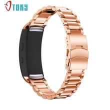 Excellent Quality 18mm Smart Watch Band Gifts Stainless Steel Bracelet Smart Watch Band Strap For Samsung Gear Fit 2 SM-R360