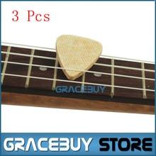Ukulele Felt Picks 3 pcs Personalized For Sale 3.0 mm Soft And Stable Ukuele Plectrums