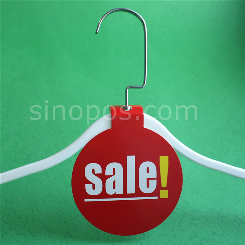 Hanger Sale Tickets, clothing coat hangers price tag sales printed ...
