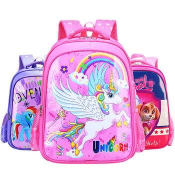 Unicorn Waterproof School Bag for Boy Girl