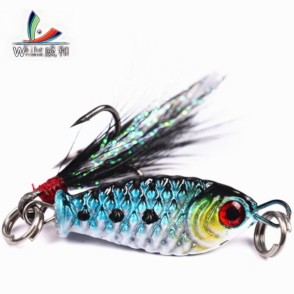 1Pcs Jigs Sea Fishing Lures Mini Rotating Metal Dip Iron Wobbler 5.27g/3cm VIB Hard Fishing Bait Sea Ice Fishing Equipment bammax fishing lure 7 5g 5cm shore cast iron metal sequins lures hard bait spoon jig wobbler jigs saltwater fishing accessories