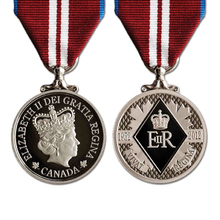 custom medals cheap Customized 3D Die Casting Zinc Alloy Canada Souvenir Antique Silver Enamel Award Medal for Elizabeth Two