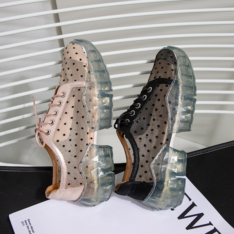 Planos Zapatos Cómodas negro Mujer Verano Nueva Malla De Casuales Plataforma Mujeres Pink Las Encaje Señoras Moonmeek Moda q0wIEznz7
