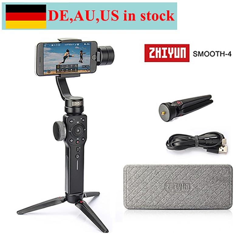 Zhiyun Liscia 4 3-Axis Handheld Gimbal Stabilizzatore per iPhone X 8 7 Più 6 Plus Samsung Galaxy S8 + S8 S7 S6 S5