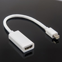 New Mini Display Port to HDMI Cable Audio/Video Adapter For Macbook and LCD TV/Projector With HDMI and Mini Dispaly Port No.1