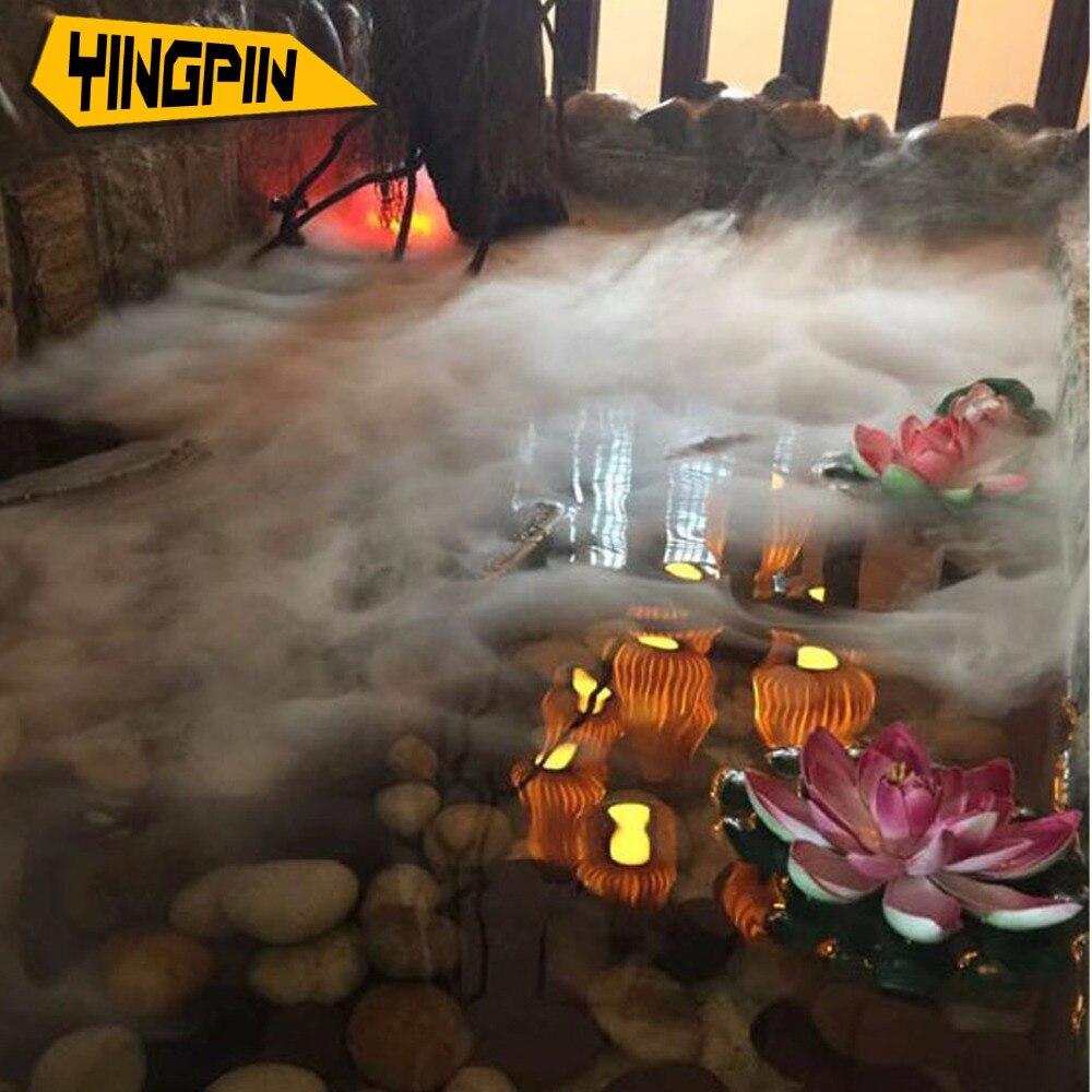 10 головы ультразвуковой распыление Туман головной Танк Lin юаней пейзаж туман генератор бонсай аквариум скала опрыскиватель