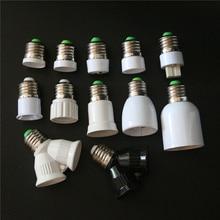 1 шт. E27 B22 E12 G9 GU10 MR16 E14 E17 E40 G24 2E27 основание светильника светодиодный кукурузная лампа светильник лампа Конвертор гнездо для подключения адаптера