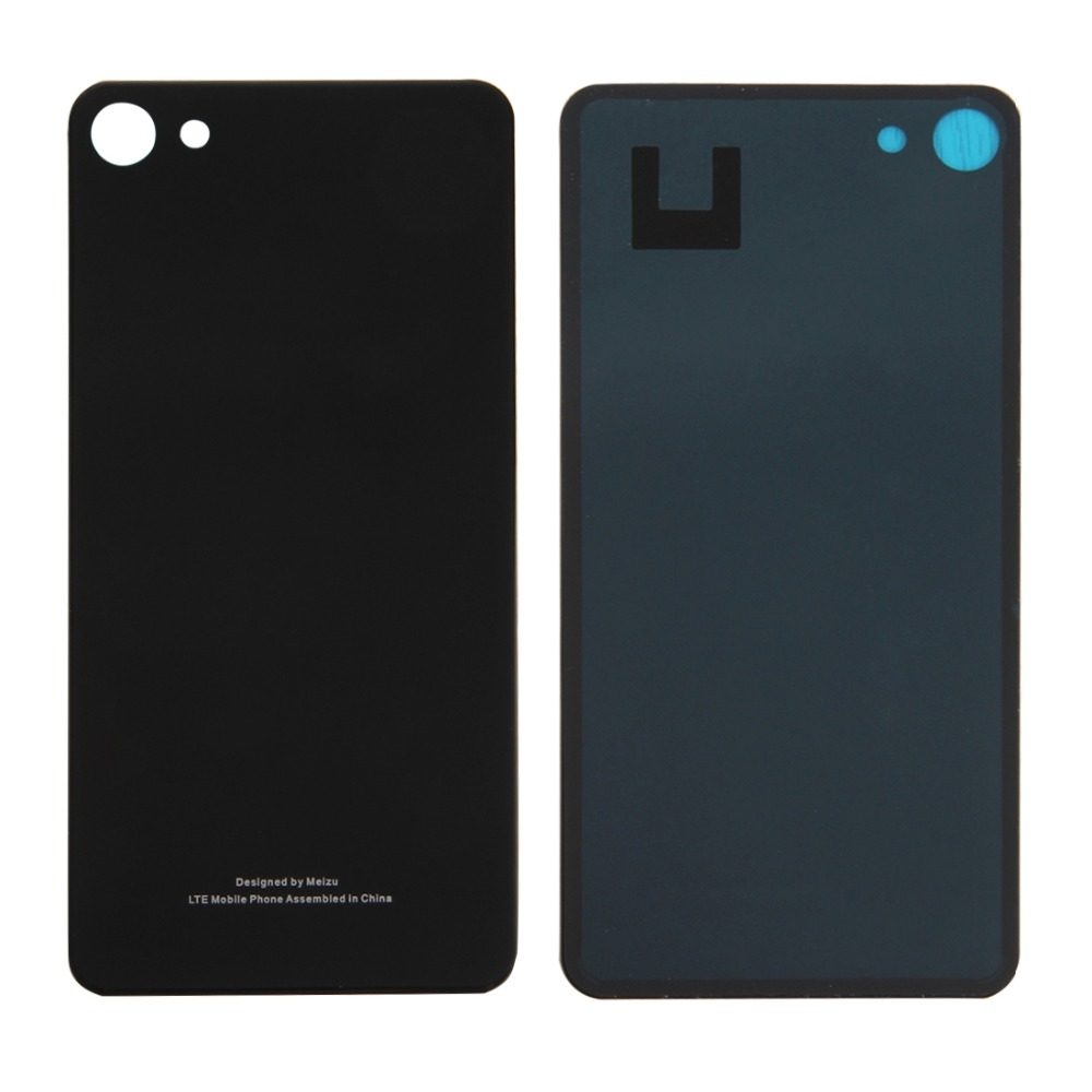 Glass Battery Back Cover With Adhesive For Meizu U10 / Meilan U10