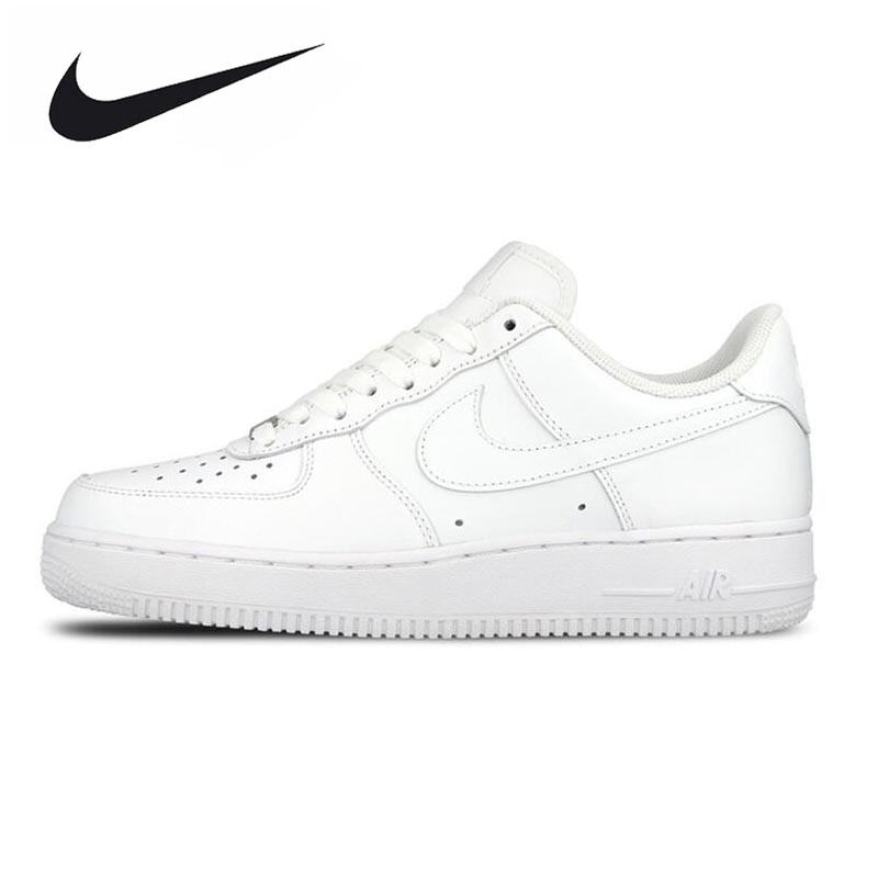Original New Arrival Official Nike AIR FORCE 1 AF1 Unisex Women and Men Breathable Skateboarding Shoes Trainers nike original new arrival mens skateboarding shoes breathable comfortable for men 902807 001