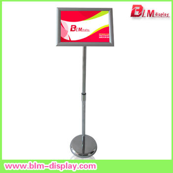 Poster Stand Board Aluminum Display Clip Frame Sign