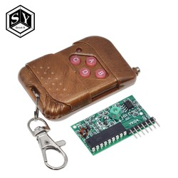 1Set Great IT IC 2262/2272 4 Channel 315Mhz Key Wireless Remote Control Kits Receiver module For arduino