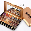 Miss Rose Eyeshadow Palette 24 Color Natural Shimmer Cosmetics Eye Makeup Nude Eye Shadow Set with Brush #226169