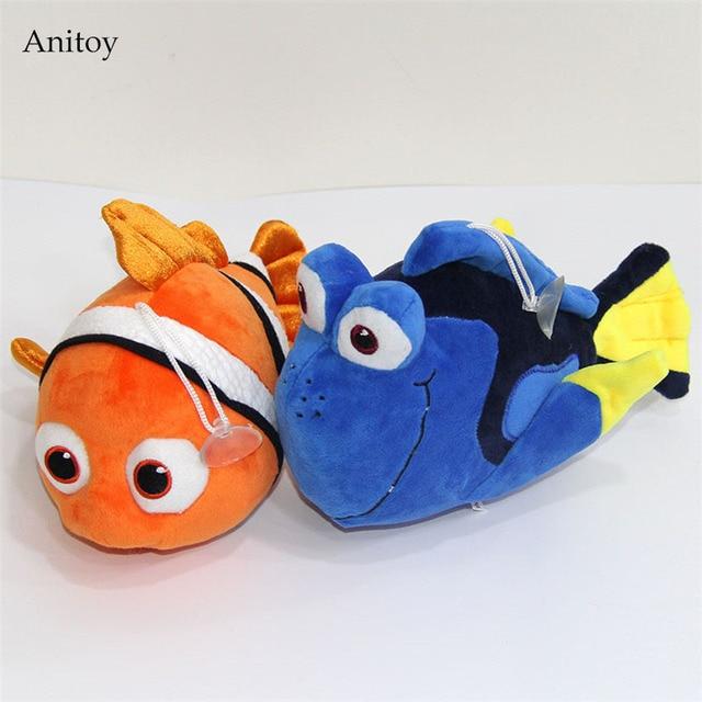 Anime Cartoon Finding Nemo Dory Plush Soft Stuffed Plush Dolls Kids