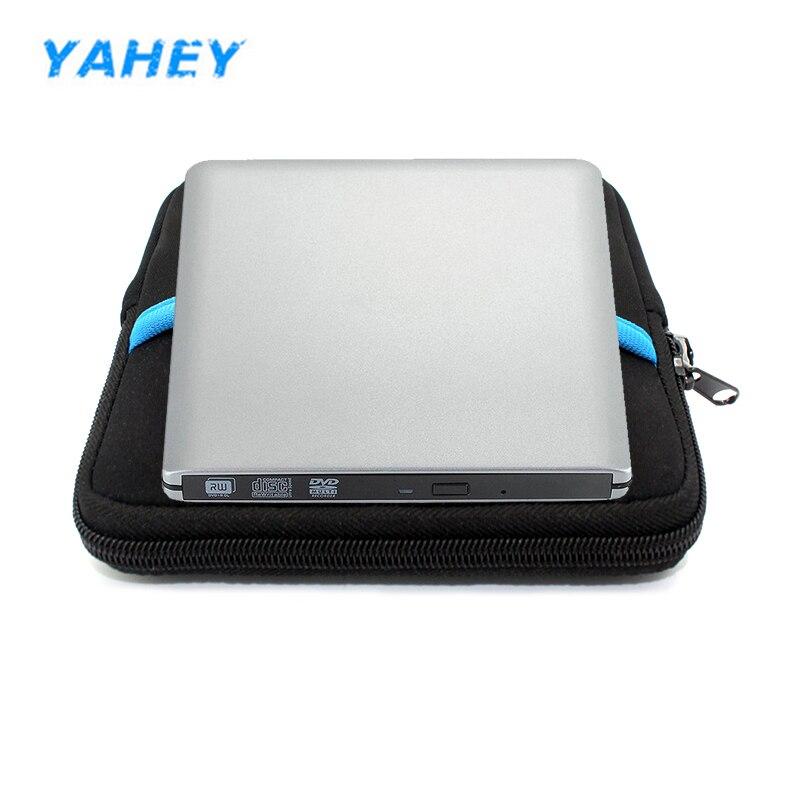 где купить USB 3.0 DVD drive External CD-RW DVD-RW 8x Burner Drive CD/DVD ROM Player Portable Black Drive Tray Loading +drive bag по лучшей цене