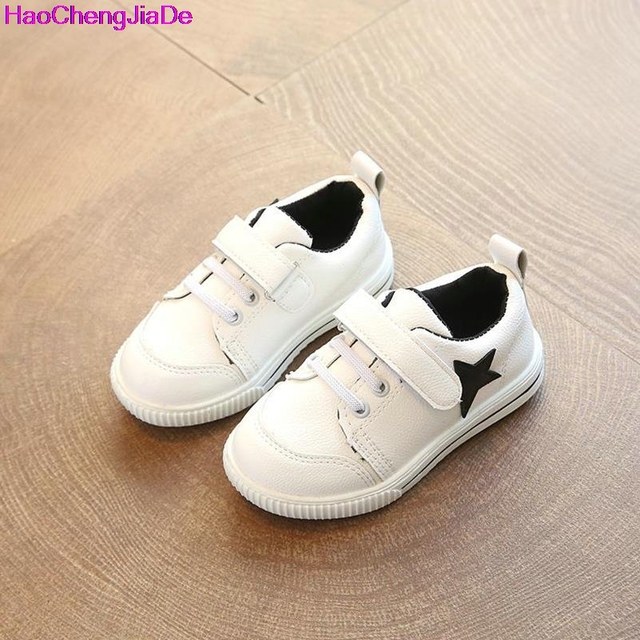 3cd3f532a6c5 HaoChengJiaDe Children Flat Shoes Chaussure Enfant Spring Autumn New Stars Girls  Shoes Sports Breathable Boys Sneakers Shoes 112