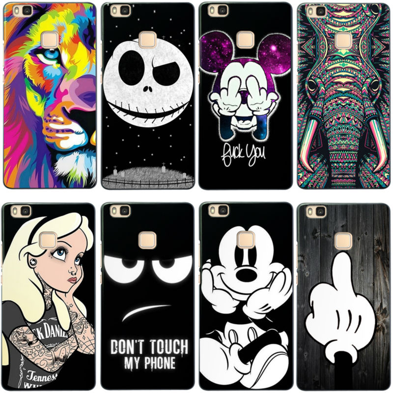 best deals on utterly stylish 100% high quality For P9 Lite Case Cute Cartoon Soft Silicone Back Cover for ...