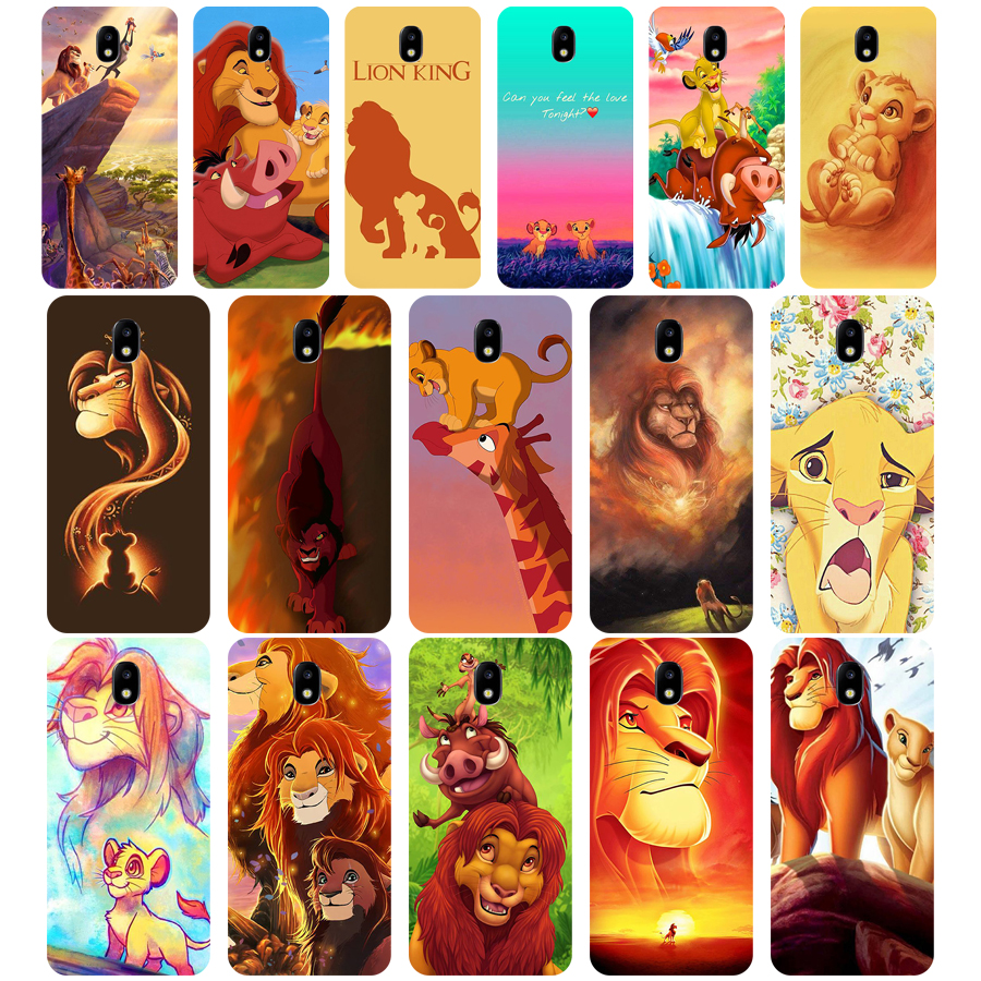 265WE The lion king simbaSoft Silicone Tpu Cover <font><b>phone</b></font> <font><b>Case</b></font> for <font><b>Samsung</b></font> j3 <font><b>j5</b></font> j7 2015 <font><b>2016</b></font> 2017 j330 j2 j4 prime j4 j6 Plus 2018 image