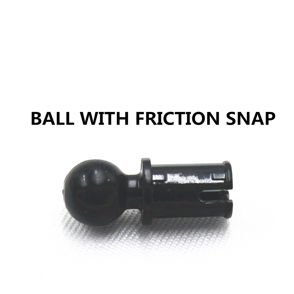 Building Blocks Bulk Technic Parts 100pcs BALL WITH FRICTION SNAP Compatible With Lego For Kids Boys Toy MOC4184169