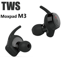 Genuine Moxpad M3 TWS Wireless Earphones Separating Earbud Bluetooth 4.1 Earphone Stereo Music with Retail Box PK Airpods