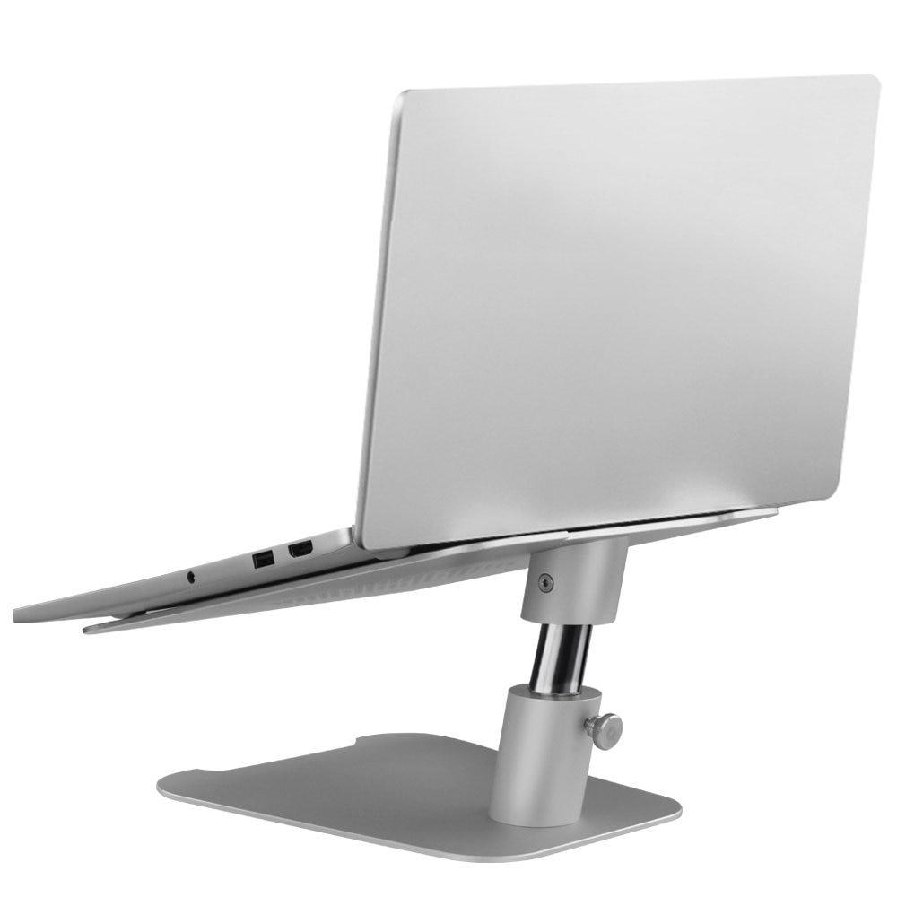 Adjustable Height Laptop Stand Aluminum Alloy Notebook Cooling Platform Free Lift Heighten Holder For MacBook Air Pro Surface