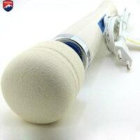 Aliexpress Mlsice Krachtige Big AV Massager Vibrator, Sex Producten Voor Vrouw, Toverstaf Vibrator Voor Koppels, borst Stimulator