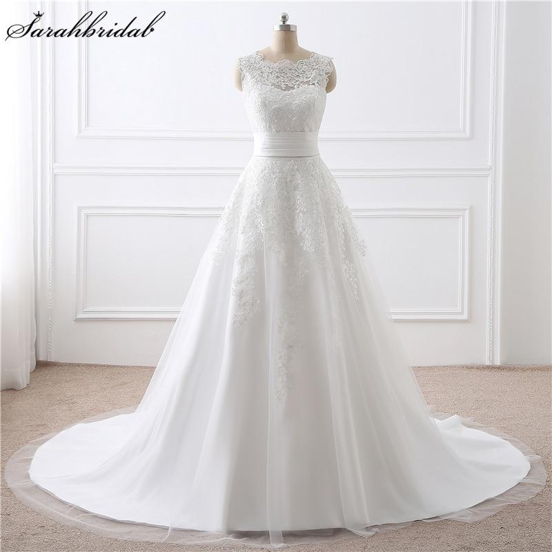 Vestido دي noiva جديد وصول الشيفون طويلة - فساتين زفاف