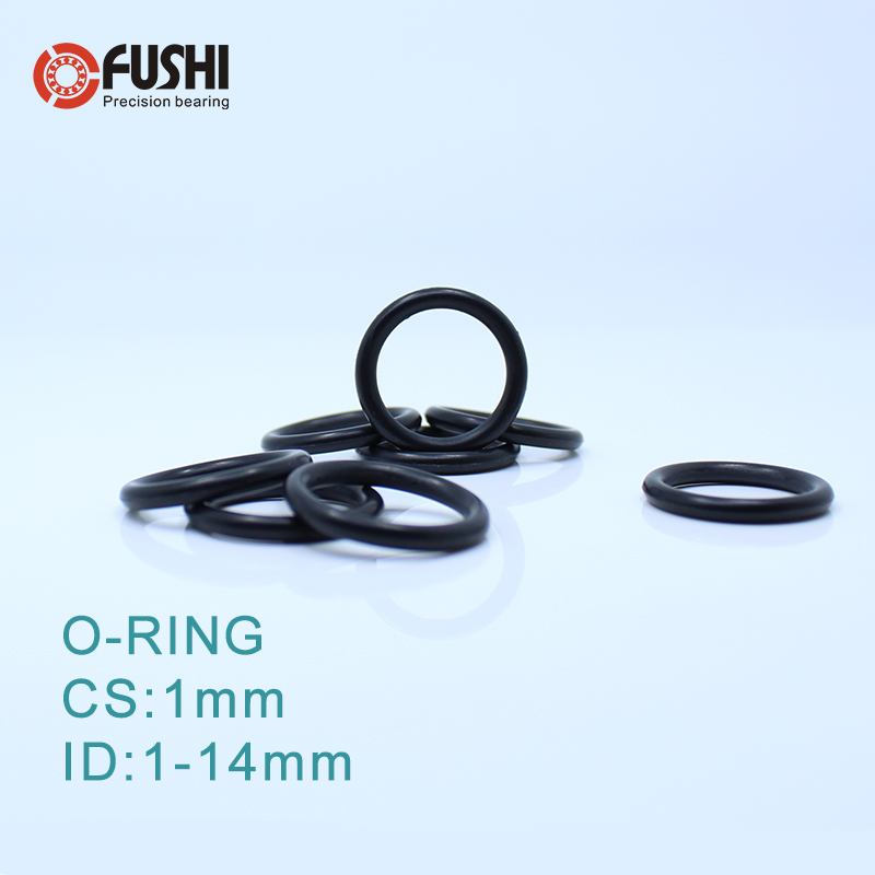 4MM Fluorine Rubber O Rings 1.0mm 30MM ID Seal Oil Resistant FKM O-Ring Green