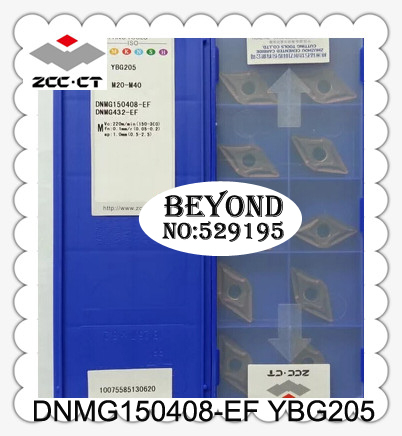 Dnmg150408 ef Ybg205 Zcc Cutting Blade milling Insert Zhuzhou Diamond Original Products The Price Ratio Is