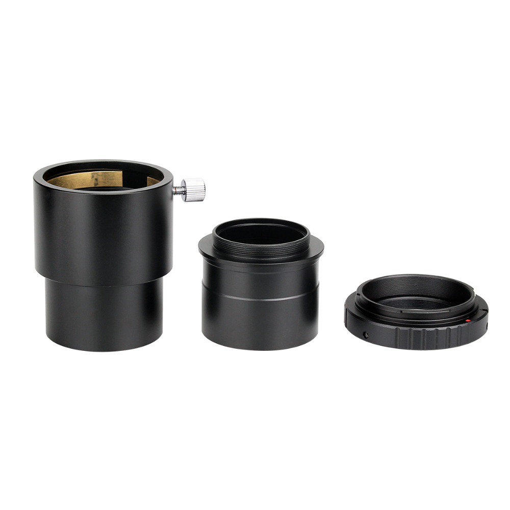 Svbony 2 Telescope Eyepiece Extension Tube +Camera Mount Adapter+ 2 to T Adapter for Astronomy Photography W2155 cnscope new 1 25 adjustable extension tube for telescope eyepiece t rings and scope