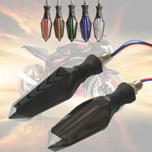 Motorcycle Turn Signal LED Lights Indicators Lamps  high quality Red dragonfly gun shape design For KTM Duke 125 200 390 RC8