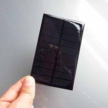 Policristalino do Painel Célula para DIY 2 PCS X 5 V 250ma Mini Monocristalino Solar Pequeno Módulo PV Kits Solares
