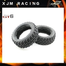 GTBRacing Rear tire (x 2pcs/set 170*80) for 1/5 rc car hpi rovan baja 5b/ss