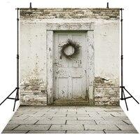Hot Brick Wall Photography Backdrop Vinyl Backdrop For Photography Photocall Infantil Door Background For Photo Studio