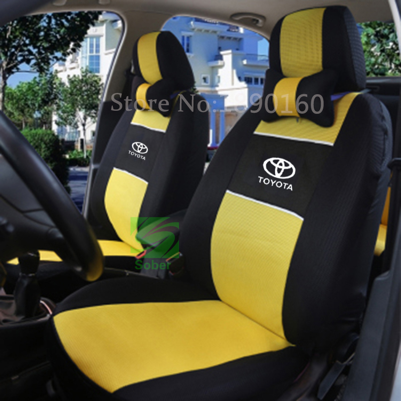 universal car seat cover for toyota corolla camry rav4 auris prius yalis avensis 2014 car. Black Bedroom Furniture Sets. Home Design Ideas