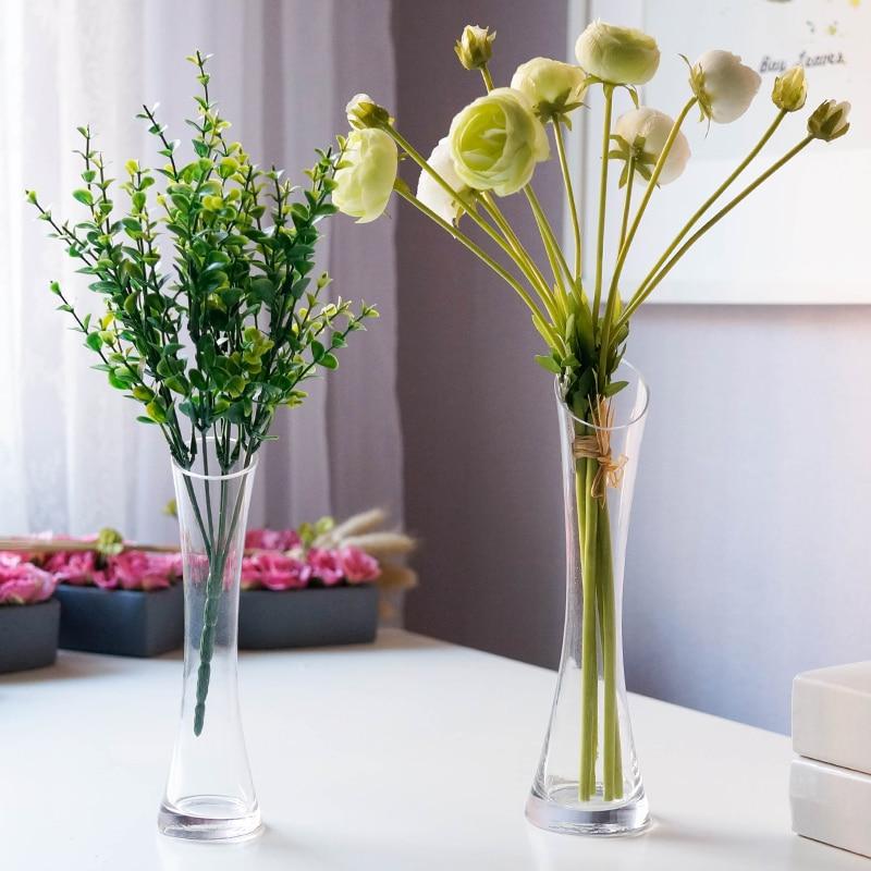 Mini Glass Vasesdesktop Decorationtable Flower Vasegirl Gift
