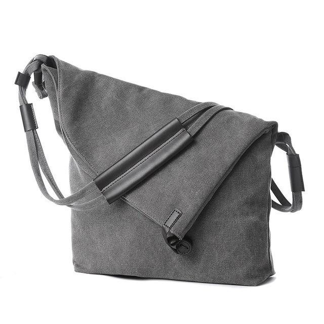Canvas Women Shoulder Bag Fashion Messenger Bags Designer High Quality Handbag  Large Vintage Ladies Sac Crossbody Bags Female 59afc8783d5b5