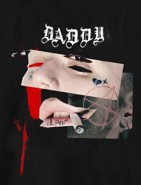 aefca7beca674 NEW!! BABBY Lil peep sus boy T Shirt Soundcloud Hip Hop Rapper BLACK ...