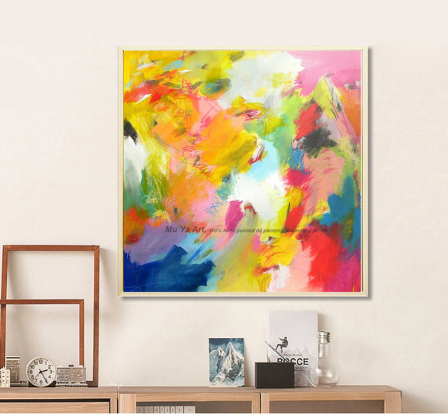 Delicieux MUYA Artist Supply Cheap Modern Painting Abstract Wall Art Canvas Famous  Abstract Paintings Reproduction Oil Paintings