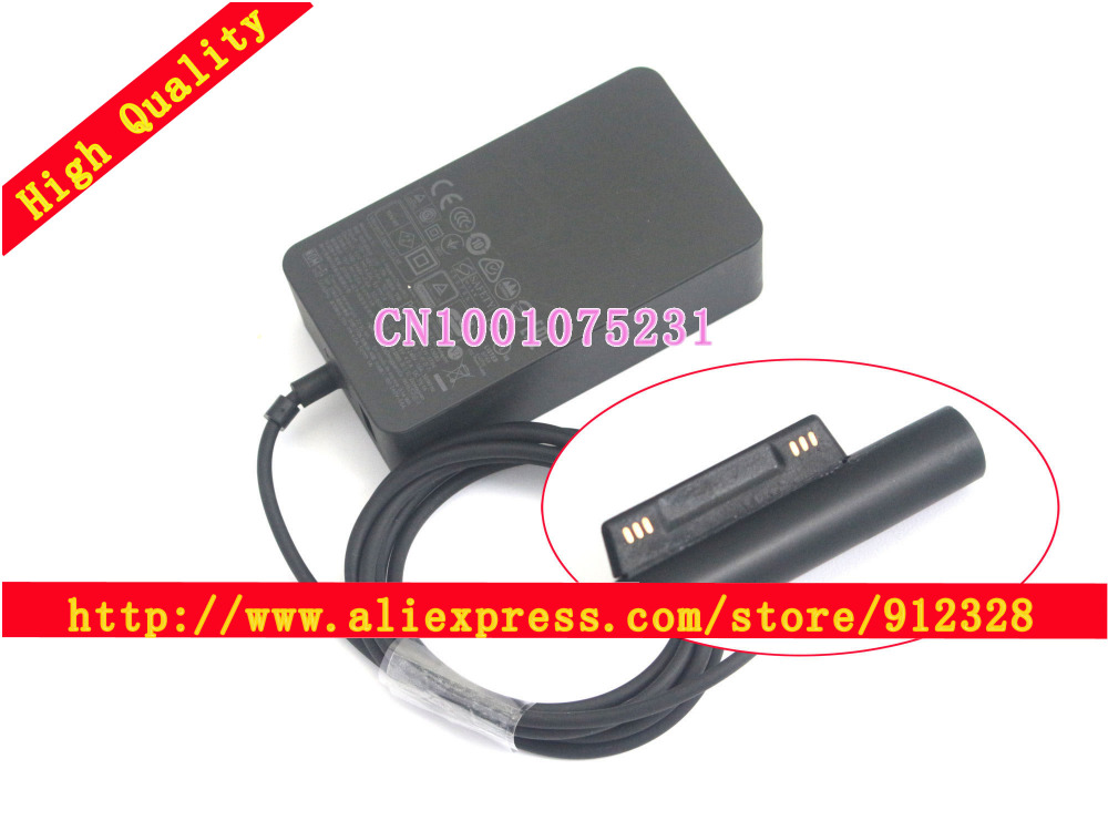 New Microsoft SURFACE PRO 4 SURFACEBOOK Tablet Adapter 15V 4A 1706 MICROSOFT Surface PRO 4 SURFACE PRO 4 Tablet Power Supply