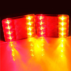 1 Pair LED Waterproof Truck Trailer CARAVAN Stop Brake Tail Light Indicator Lamp