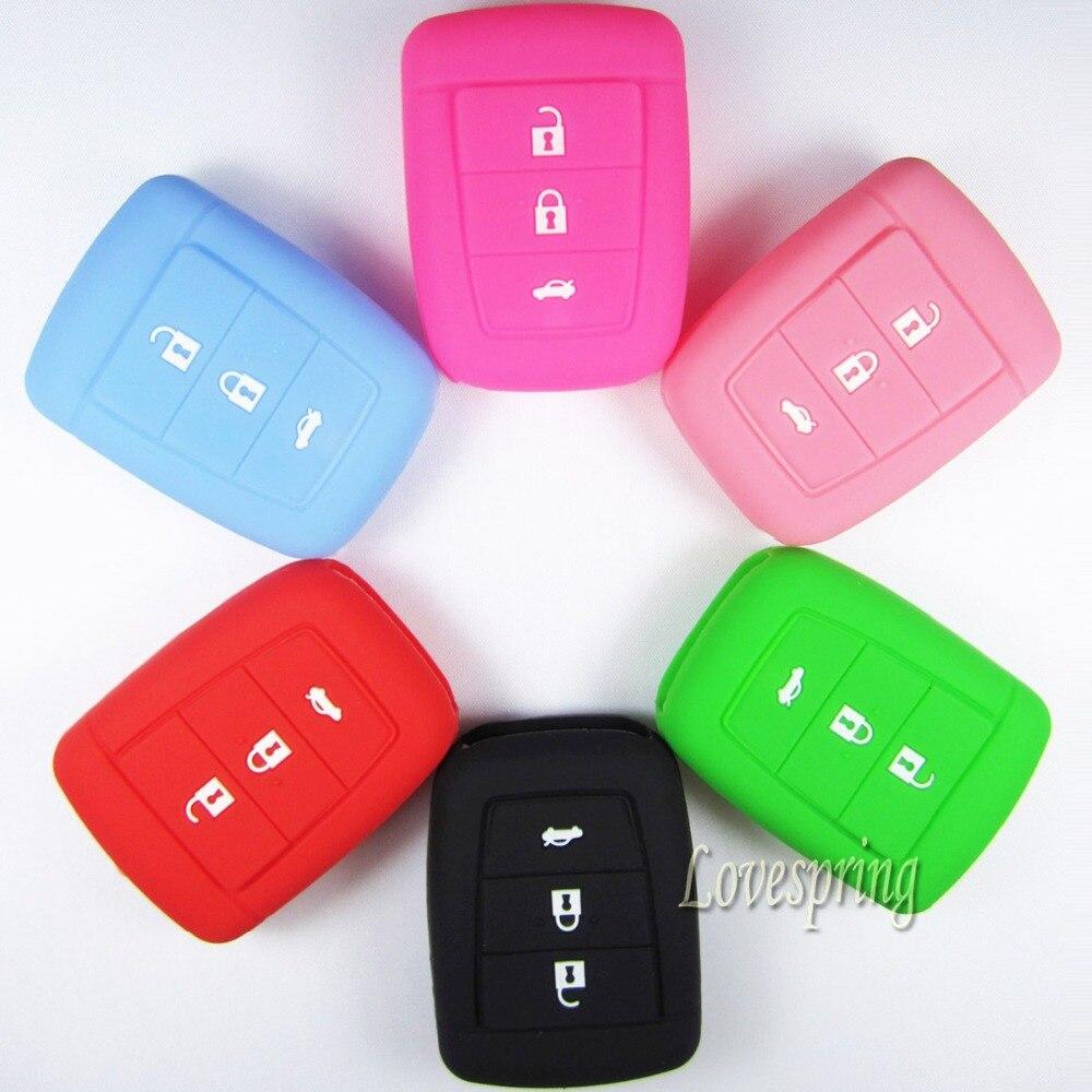 Силиконовые Автомобилей smart Key Дело shell Обложка держатель вход без ключа Для HOLDEN COMMODORE VE SV6 SS Omega
