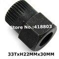 Съемник Шкива генератора Сцепления Выбеге Ролик Removal Tool 33 Сплайн Для VW AUDI FORD PEUGEOT